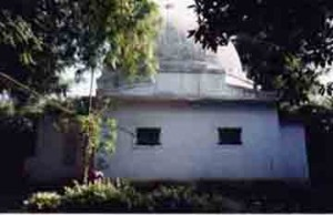 One of the solitude rooms at Nadiad ashram